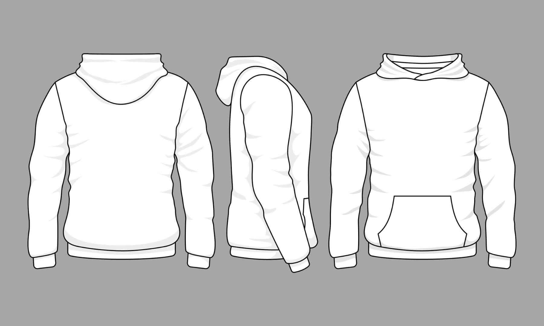 Hoodie bedrukken - ontwerp